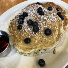 Gluten-free vegan pancakes from The Post East
