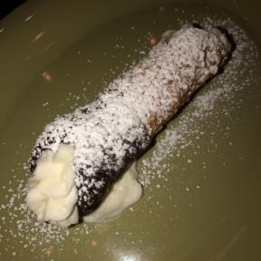 Gluten-free cannoli from Mangia Nashville