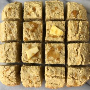 Gluten-free and dairy-free Cornbread