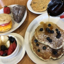 Gluten-free brunch from The Post East