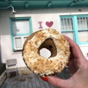 Gluten-free paleo coconut macroon donut from Five Daughters Bakery