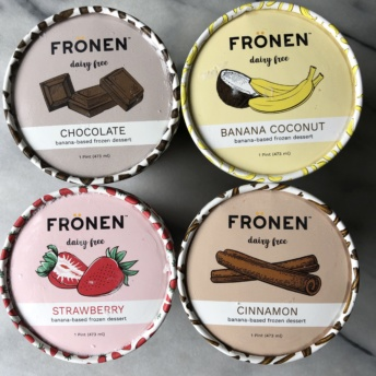 Gluten-free dairy-free ice cream by Fronen