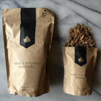 Gluten-free vegan granola by Nora's Kitchen Granola