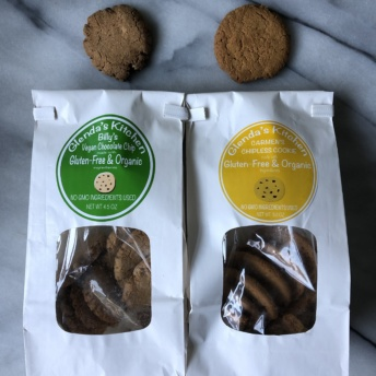Vegan and chipless cookies from Glenda's Kitchen
