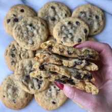 Gluten-free CBD Infused Chocolate Chip Cookies