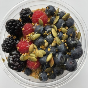 Acai bowl from Seeds
