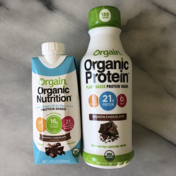 Gluten-free protein shakes from Orgain