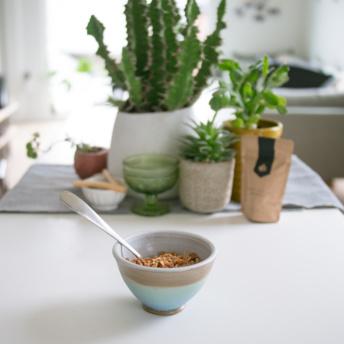 Delicious bowl of Nora's Kitchen Granola