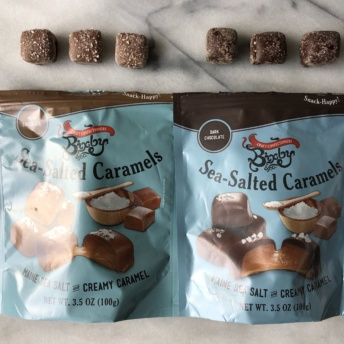 Sea-salted caramels by Bixby & Co
