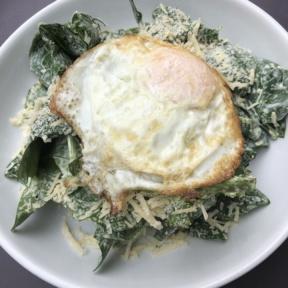 Gluten-free Caesar salad from Mint + Craft