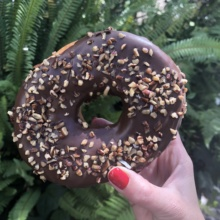 Gluten-free donut from Pan Gabriel