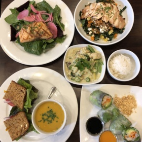 Gluten-free lunch from Novo