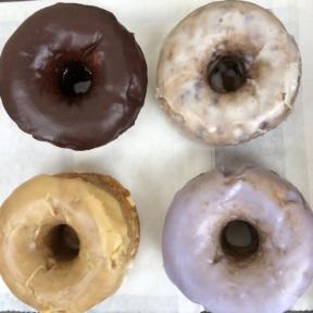 Gluten-free donuts from SloDoCo in San Luis Obispo