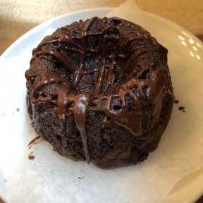 Chocolate bundt cake from Nourish