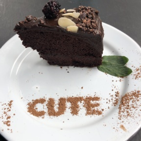 Gluten-free chocolate cake from La Otila