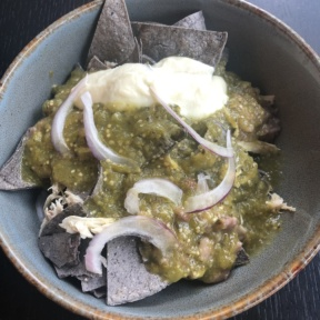 Chilaquiles from Hungry Beast