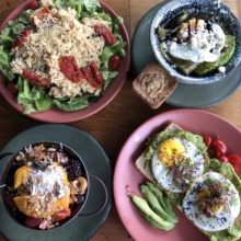 Gluten-free brunch from Ojo de Agua