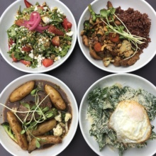 Gluten-free lunch from Mint + Craft