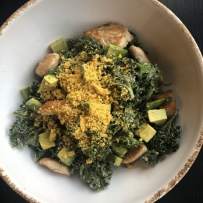 Kale Caesar salad from Hungry Beast
