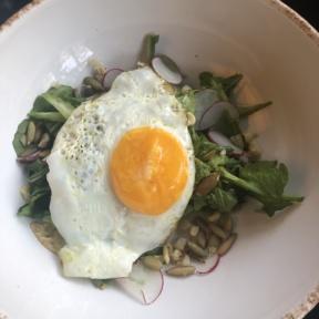 Arugula salad from Hungry Beast