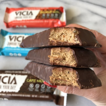 Protein bars by Vicia