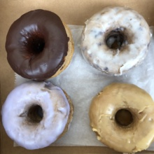 Gluten-free donuts from SloDoCo