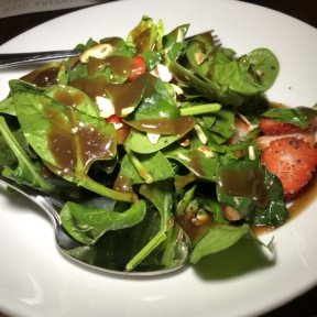 Strawberry salad from Flour House