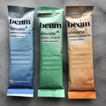 Gluten-free hydration mixes by Beam