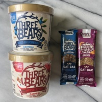 Gluten-free oatmeal and bars by Three Bears