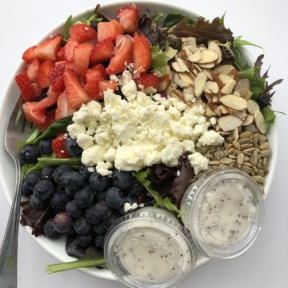 Gluten-free salad from Seeds