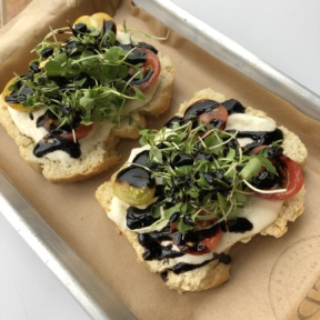 Gluten-free toast from Seeds
