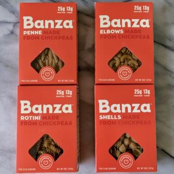 Gluten-free chickpea pasta by Banza