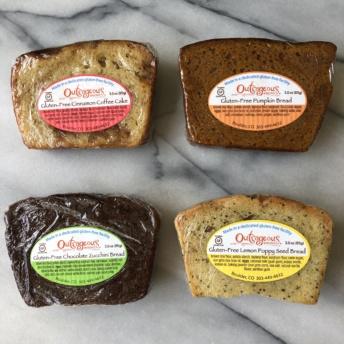 Gluten-free breads by Moodbeli