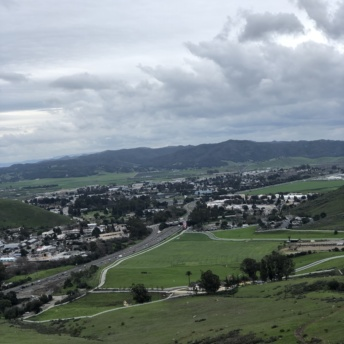 View from hiking in San Luis Obispo