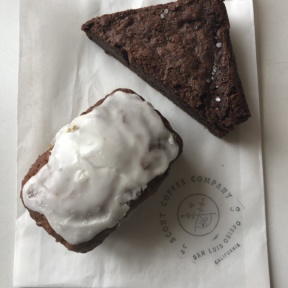 Gluten-free baked goods from Scout Coffee