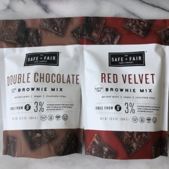 Gluten-free baking mixes from Safe + Fair