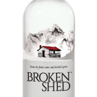 Bottle of Broken Shed Vodka