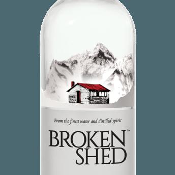 Bottle of Broken Shed Vodka