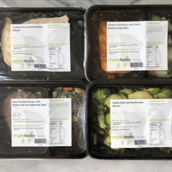 Gluten-free entrees and sides from Metabolic Meals