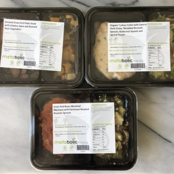 Gluten-free meals from Metabolic Meals