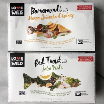 Gluten-free seafood from Love The Wild
