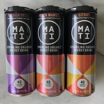 Gluten-free energy drinks by MATI