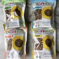 All seed savory crisps by Ella's Flats