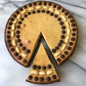 Gluten-free Brownie Bottom Peanut Butter Cheesecake