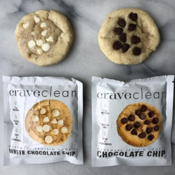 Gluten-free protein cookies by CraveClean