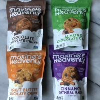 Gluten-free cookies by Maxine's Heavenly