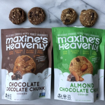 Certified gluten-free cookies by Maxine's Heavenly