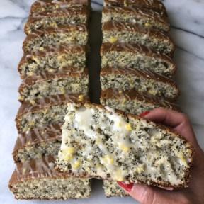 Delicious gluten-free Lemon Poppy Seed Loaf