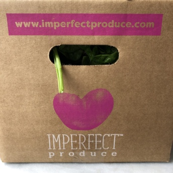 Ugly produce delivered by Imperfect Produce