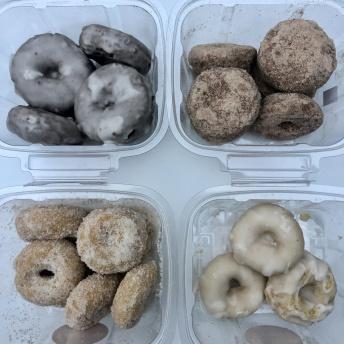 Gluten-free dairy-free donuts by Freedom Gluten Free